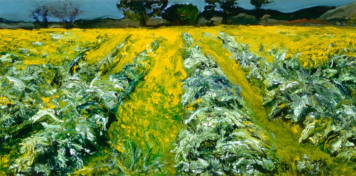 Artichoke Field 1 giclee Dick Crispo