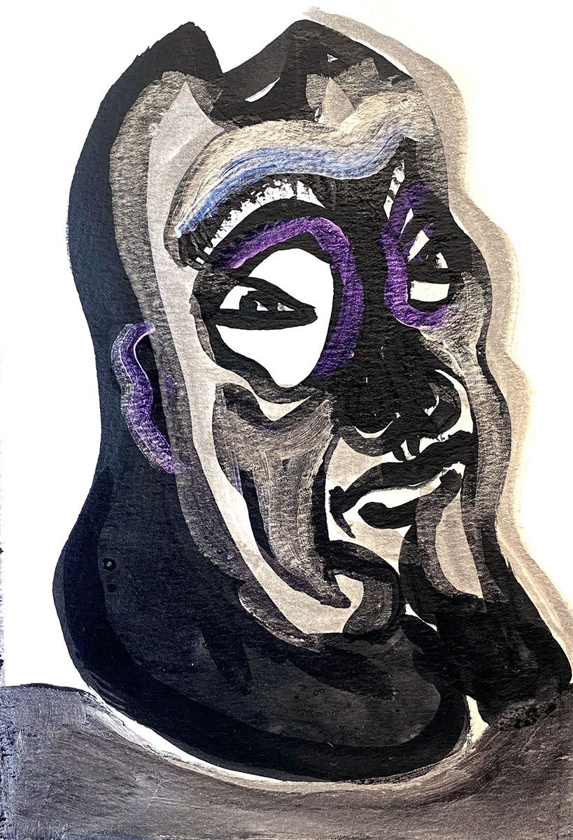 Ink No 2 9x12 0888 Dick Crispo