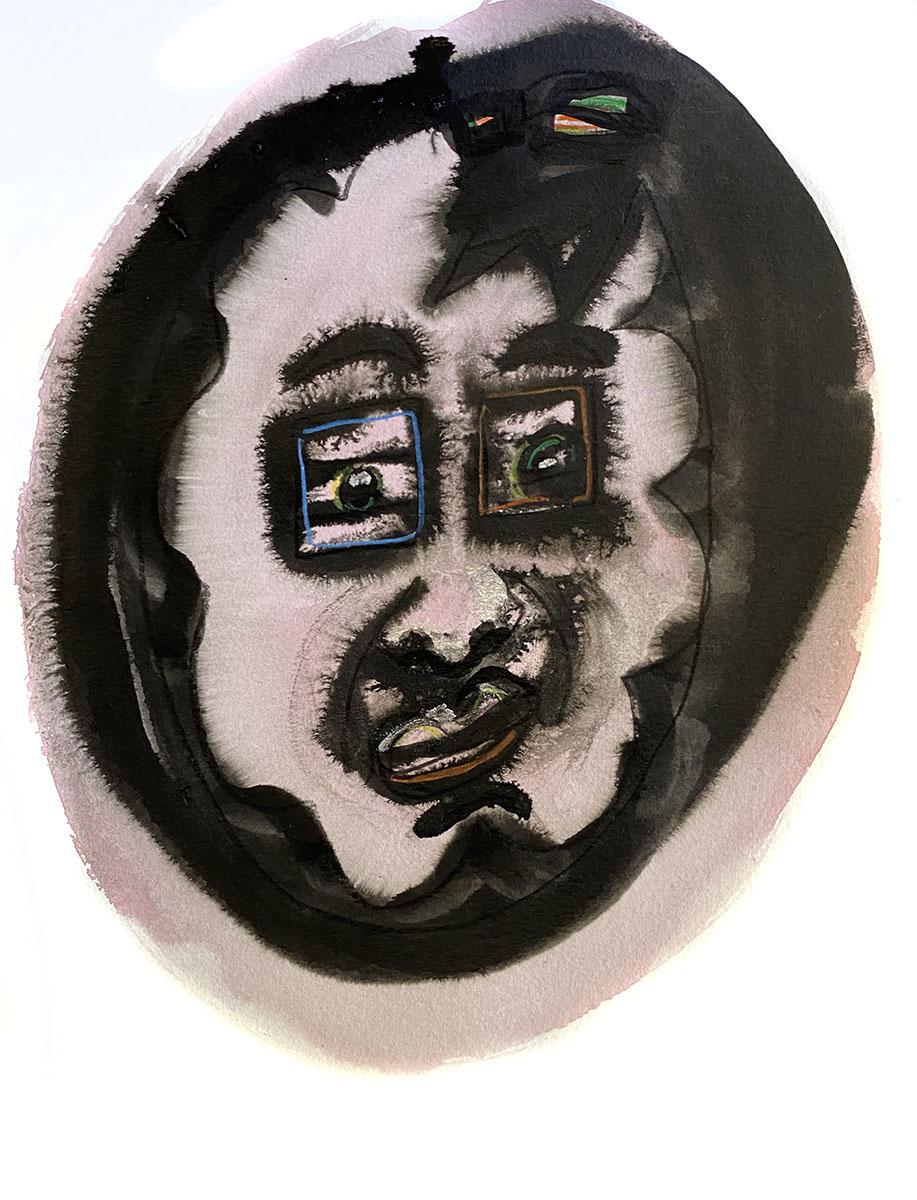 Ink No 6 18x24 0894 Dick Crispo