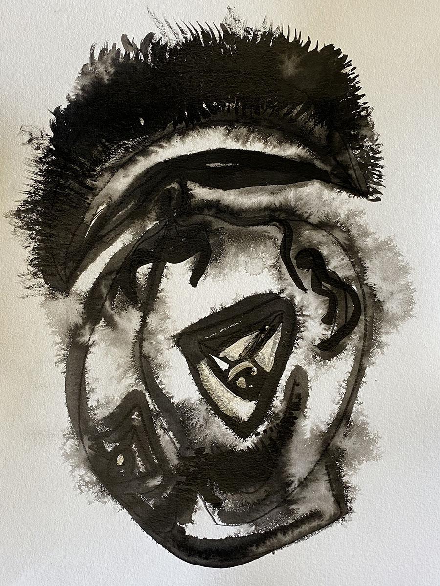 Ink No 7 18x24 0895 Dick Crispo
