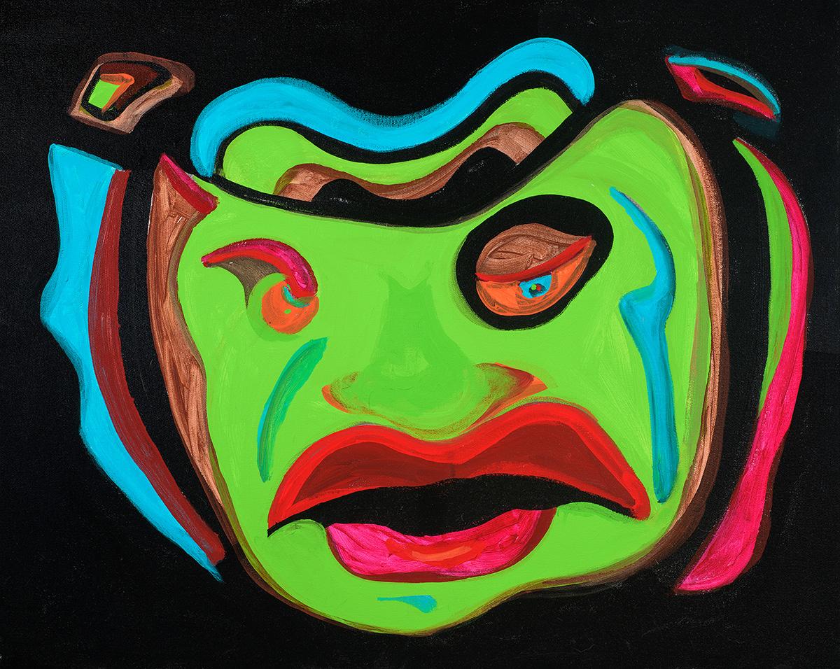 Moscata No 17 16x18 acrylic Dick Crispo