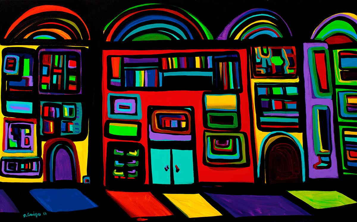 New York City No 12 acrylic MG_3920 Dick Crispo