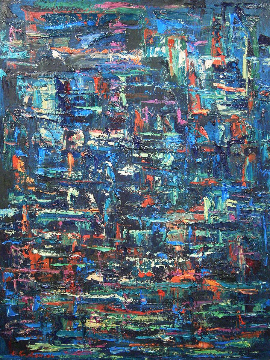 Pacific-Tapestry-original-oil- Dick Crispo