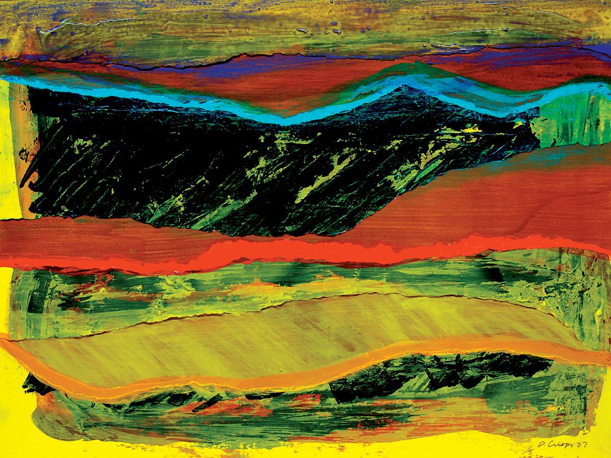 San Joaquin No 1 acrylic and oil 18x24 DSC09161 Dick Crispo