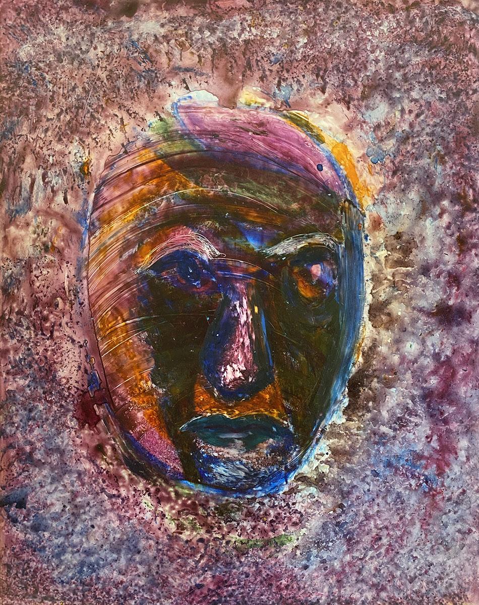 Watercolor NO 5 Yupo 9x12 0881 Dick Crispo