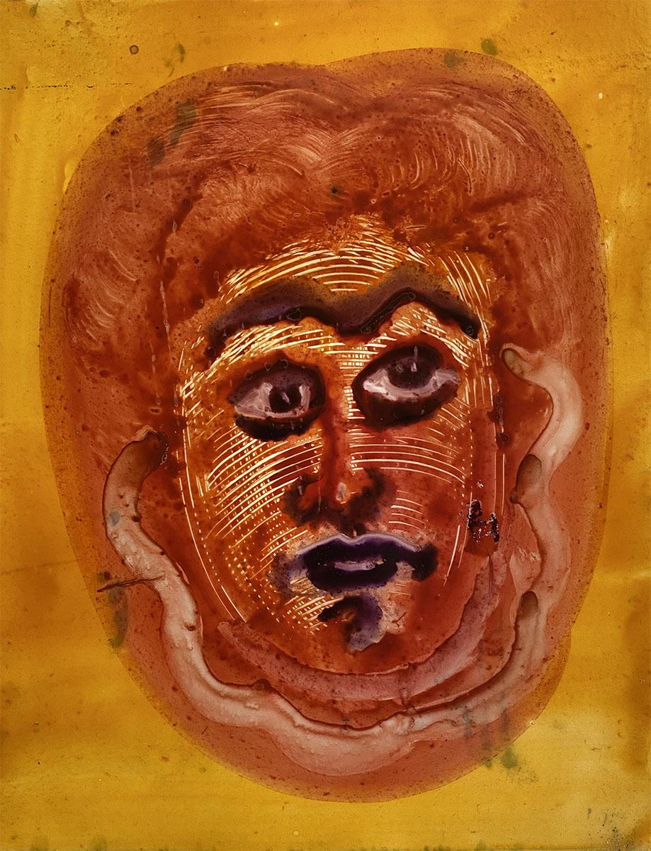 Watercolor No 8 Yupo 9 x 12 0884 Dick Crispo