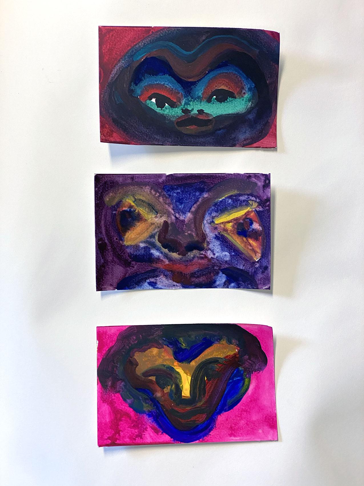 Watercolor Set No 1 4x6 each_0847 Dick Crispo