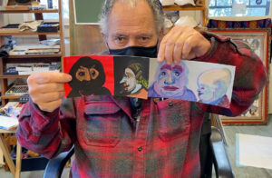 dick-crispo-with-front-and-side-paintings
