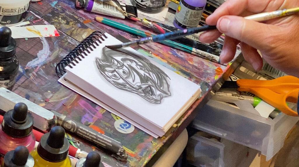 drawing-with-aqua-graphite