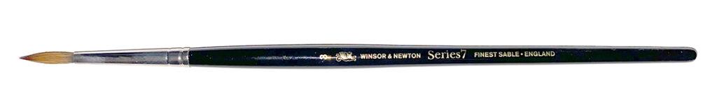Winsor & Newton Series 7 #4 brush